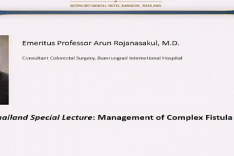 Management of Complex Fistula in Ano